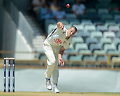 November 4th 2017, WACA Ground, Perth Australia; International cricket tour, Western Australia versus England, day 1; Western Australian Nathan Coulter-Nile bowls during the opening overs of Englands innings