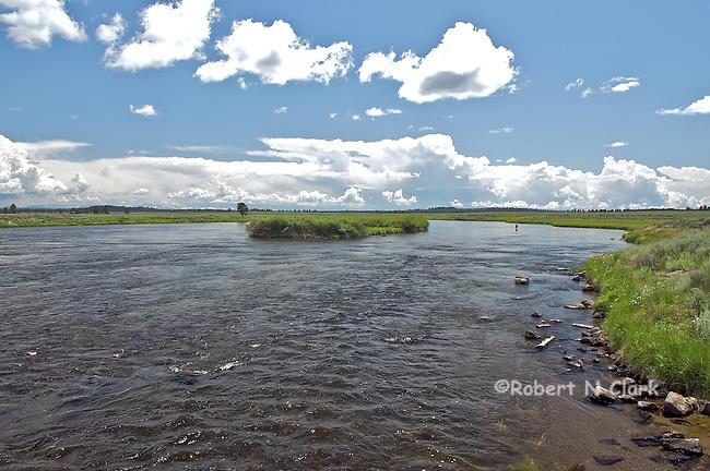 Henry's Fork of the Snake River at the Osborn Bridge