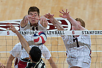 STANFORD, CA - The Stanford Cardinal is defeated in five sets by visiting Long Beach State at Maples Pavilion.