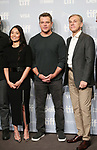 Hong Chau, Matt Damon, and Christoph Waltz attend the 'Downsizing' photo call during the 2017 Toronto International Film Festival at Tiff Lightbox on September 10, 2017 in Toronto, Canada.