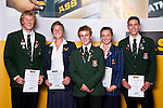 Boys & Girls Rowing finalists. ASB College Sport Auckland Secondary School Young Sports Person of the Year Awards held at Eden Park on Thursday 12th of September 2009.