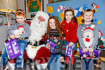 The McGill's, Odhran, Sarahlilly, Tiarnagh & Darragh visiting Santa on Saturday in Cahersiveen.