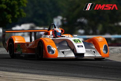 8-10 August 2014, Elkhart Lake, Wisconsin USA<br /> 61, Andrew Novich, L1, Elan DP-02<br /> &copy;2014, Phillip Abbott<br /> LAT Photo USA for IMSA