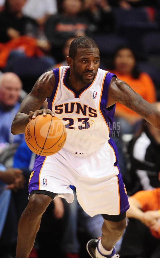 Dec. 8, 2010; Phoenix, AZ, USA; Phoenix Suns guard (23) Jason Richardson against the Memphis Grizzlies at the US Airways Center. Mandatory Credit: Mark J. Rebilas-