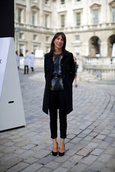 Samantha Cameron, London, London Fashion Week, Somerset House, Street Style
