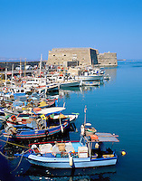 Greece, Crete, Heraklion: Harbour and Venetian Fortress | Griechenland, Kreta, Iraklio: Venezianisches Fort und Hafen