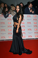 Chelsee Healey<br /> Arrivals at the National Television Awards 2018 at The O2 Arena on January 23, 2018 in London, England. <br /> CAP/Phil Loftus<br /> &copy;Phil Loftus/Capital Pictures