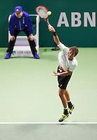 Februari 13, 2015, Netherlands, Rotterdam, Ahoy, ABN AMRO World Tennis Tournament, Robin Haase (NED) <br /> Photo: Tennisimages/Henk Koster