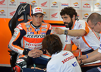 Termas de Rio Hondo ( Argentina ) 01/04/2016 - prove libere - Practice Moto GP - Argentina  / foto Luca Gambuti/Image Sport/Insidefoto<br /> nella foto: Marc Marquez