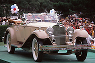 August 26th, 1984. 1938 Mercedes Benz 200V Roadster.