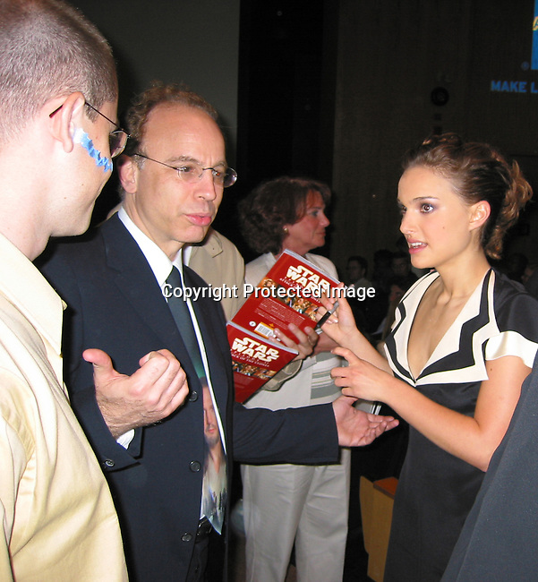Natalie Portman <br />EXCLUSIVE<br />Stars Wars Premiere Inside the Theater<br />To Benefit The Children's Aid Society<br />Tribeca Performing Arts Center<br />New York, NY, USA<br />May 12, 2002<br />Photo By Celebrityvibe.com