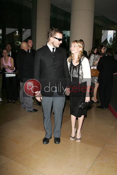 Heath Ledger and Michelle Williams<br />