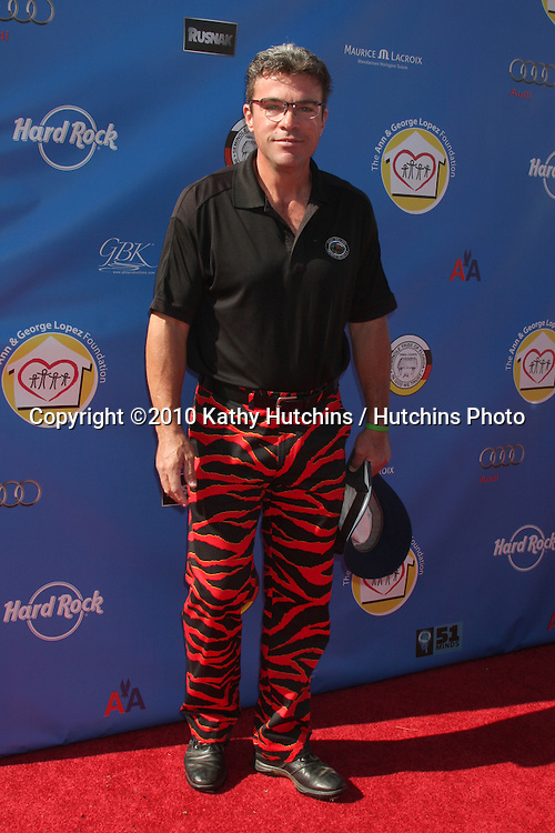 John J. York.arrives at  the George Lopez Golf Tournament .Lakeside Golf Club.Toluca Lake, CA.May 3, 2010.©2010 Kathy Hutchins / Hutchins Photo...
