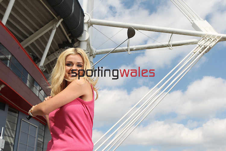 Katherine Jenkins at the launch of the Ryder Cup Welcome to Wales concert at the Millennium Stadium in Cardiff..23.06.10.Photo Credit: Steve Pope-Sportingwales