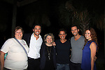 "Dora and Pat Berry posing with Tom Pelphrey, Christian LeBlanc, Eric Martsolf and Melissa Archer came to see Tom at Southwest Florida SoapFest's Celebrity Weekend doing A Night at the Theatre performing ""My Italy Story"" benefitting the Apothecary Theatre Company at the Rose History Auditorium on November 11, 2012 in Marco Island, Florida. (Photo by Sue Coflin/Max Photos)"