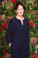 Fiona Shaw<br /> arriving for the 2018 Evening Standard Theatre Awards at the Theatre Royal Drury Lane, London<br /> <br /> ©Ash Knotek  D3460  18/11/2018