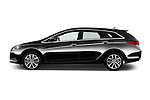 Car Driver side profile view of a 2015 Hyundai I40 Premium 5 Door Wagon Side View