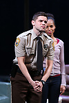 Jeremy Jordan during the Broadway Opening Night Curtain Call for 'AMERICAN SON' at the Booth Theatre on November 4, 2018 in New York City.