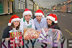 Sarah O'Connor, Sean Dineen, Niall Kelleher and Karen Murphy, who are asking people to shop in Rathmore town this Christmas...   Copyright Kerry's Eye 2008