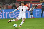 12.01.2018, BayArena, Leverkusen , GER, 1.FBL., Bayer 04 Leverkusen vs. FC Bayern M&uuml;nchen<br /> im Bild / picture shows: <br /> Thomas M&uuml;ller / Mueller (Bayern Muenchen #25),   Einzelaktion, Ganzk&ouml;rper / Ganzkoerper,  <br /> <br /> <br /> Foto &copy; nordphoto / Meuter