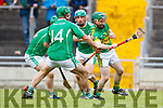 Ballyduff in action against James Flaherty Lixnaw in the Senior County Hurling Final in Austin Stack Park on Sunday
