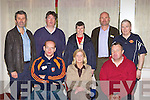 .3674-3679.Attending the GAA Club Voices senimar in the INEC on Saturday was front row l-r: Michael Murphy Brosna, Bernie Reen Rathmore, Maurice Lawlor Na Gaeil. Back row: Declan Falvey Laune Rangers, Alan Sheehy Kenmare, Marie Ui? Mhurch Dingle, Frank O'Connor Kerins O'Rahilly's and Pat Delaney St Pats