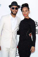 Swizz Beatz and Alicia Keys at the 2012 Billboard Music Awards held at the MGM Grand Garden Arena on May 20, 2012 in Las Vegas, Nevada. © mpi28/MediaPUnch Inc.
