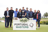 Steven Brown (ENG) during Round 4 of the Portugal Masters, Dom Pedro Victoria Golf Course, Vilamoura, Vilamoura, Portugal. 27/10/2019<br /> Picture Andy Crook / Golffile.ie<br /> <br /> All photo usage must carry mandatory copyright credit (© Golffile | Andy Crook)