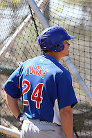 Kyler Burke, Chicago Cubs 2010 minor league spring training..Photo by:  Bill Mitchell/Four Seam Images.