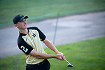 SUGAR GROVE, IL - MAY 29: Patrick Martin of Vanderbilt University hits a wedge during the Division I Men's Golf Individual Championship held at Rich Harvest Farms on May 29, 2017 in Sugar Grove, Illinois. (Photo by Jamie Schwaberow/NCAA Photos via Getty Images)