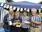 Sinead Burke and Rose Kerr from GIY, Karen Devine and Dermot Hilliard from Hilliards Farm Shop who all judged the GIY Spud Off Competition at the Cottage Market Drogheda<br /> <br /> Photo - Jenny Matthews
