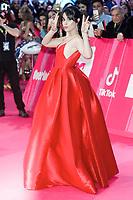 BILBAO, SPAIN-November 04: Camila Cabello attend the EMA 2018 at BEC (Bilbao Exhibition Center) in Bilbao, Spain on the 4 of November of 2018. November04, 2018.  ***NO SPAIN*** <br /> CAP/MPI/RJO<br /> &copy;RJO/MPI/Capital Pictures