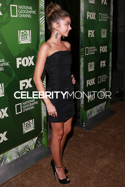 LOS ANGELES, CA, USA - AUGUST 25: Sarah Hyland at the FOX, 20th Century FOX Television, FX Networks And National Geographic Channel's 2014 Emmy Award Nominee Celebration held at Vibiana on August 25, 2014 in Los Angeles, California, United States. (Photo by David Acosta/Celebrity Monitor)