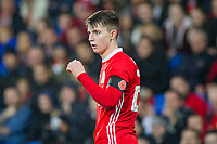 Ben Woodburn of Wales during the International Friendly match between Wales and Panama at the Cardiff City Stadium, Cardiff, Wales on 14 November 2017. Photo by Mark Hawkins.
