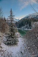 Alaska Winter Scenery
