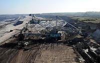 MIBRAG Braunkohletagebau Schleenhain bei Leipzig..Foto: aif / Stefan-Nöbel-Heise