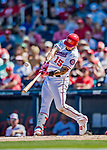 2 March 2019: Washington Nationals first baseman Matt Adams at bat during a Spring Training game against the Minnesota Twins at the Ballpark of the Palm Beaches in West Palm Beach, Florida. The Nationals defeated the Twins 10-6 in Grapefruit League play. Mandatory Credit: Ed Wolfstein Photo *** RAW (NEF) Image File Available ***