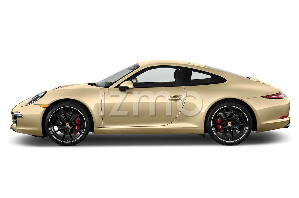 Driver side profile view of a .2012 Porsche Carrera S Coupe