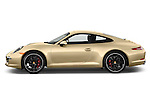 Driver side profile view of a .2012 Porsche Carrera S Coupe