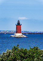 Delaware Breakwater Lighthouse, Lewes, Delaware, USA