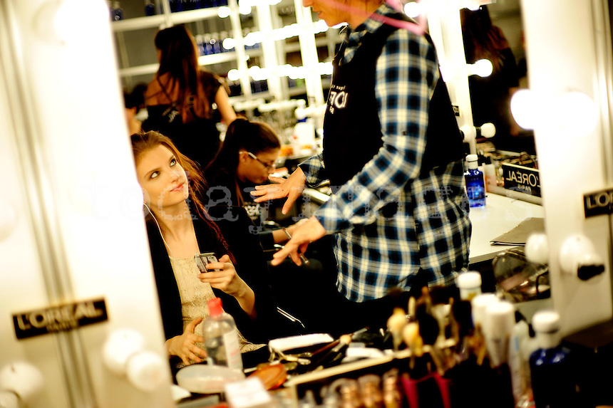 Backstage Mercedes-Benz Fashion Week Madrid 2013