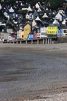 France, Bretagne, (29), Finistère, Presqu'île de Crozon, Crozon, Morgat:   la plage