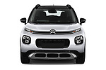 Car photography straight front view of a 2018 Citroen C3 Aircross Shine 5 Door SUV