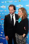 ©F.Andrieu-Bruxelles- 02-02-2013-Magritte du cinéma- Stephane De Groodt et son épouse