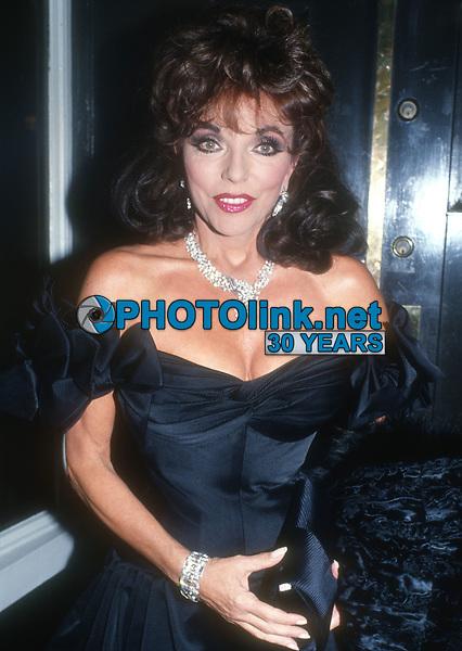 Joan Collins<br /> 1980s<br /> Photo By John Barrett/CelebrityArchaeology.com