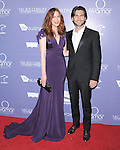 Anna McGahan and Wes Bentley attends the Australians in Film 8th Annual Breakthrough Awards held at The Hotel Intercontinental in Century City, California on June 27,2012                                                                               © 2012 Hollywood Press Agency