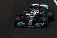 #44 Lewis Hamilton Mercedes AMG Team F1. Hungarian GP, Budapest 2-4 August 2019<br /> Budapest 03/08/2019 GP Hungary <br /> Formula 1 Championship 2019 Race  <br /> Photo Federico Basile / Insidefoto