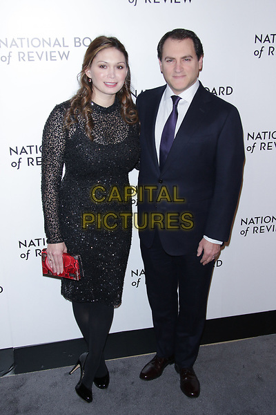 NEW YORK, NY - JANUARY 9:  Mai-Linh Lofgren and Michael Stuhlbarg at The National Board of Review Annual Awards Gala at Cipriani 42nd Street on January 9, 2018 in New York City. <br /> CAP/MPI99<br /> &copy;MPI99/Capital Pictures