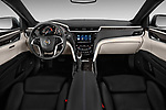 Dashboard view of a 2013 Cadillac XTS Platinum sedan