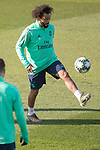 Real Madrid's Marcelo during training session. <br /> November 25 ,2019.<br /> (ALTERPHOTOS/David Jar)